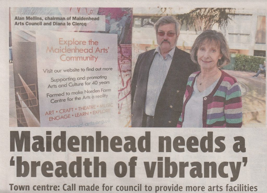 Open Letter Maidenhead Advertiser Article